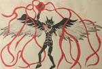 RED MILES!: Inktober #4 by firelorddarkskull