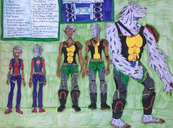 Official Character sheet: Maiako Thorn