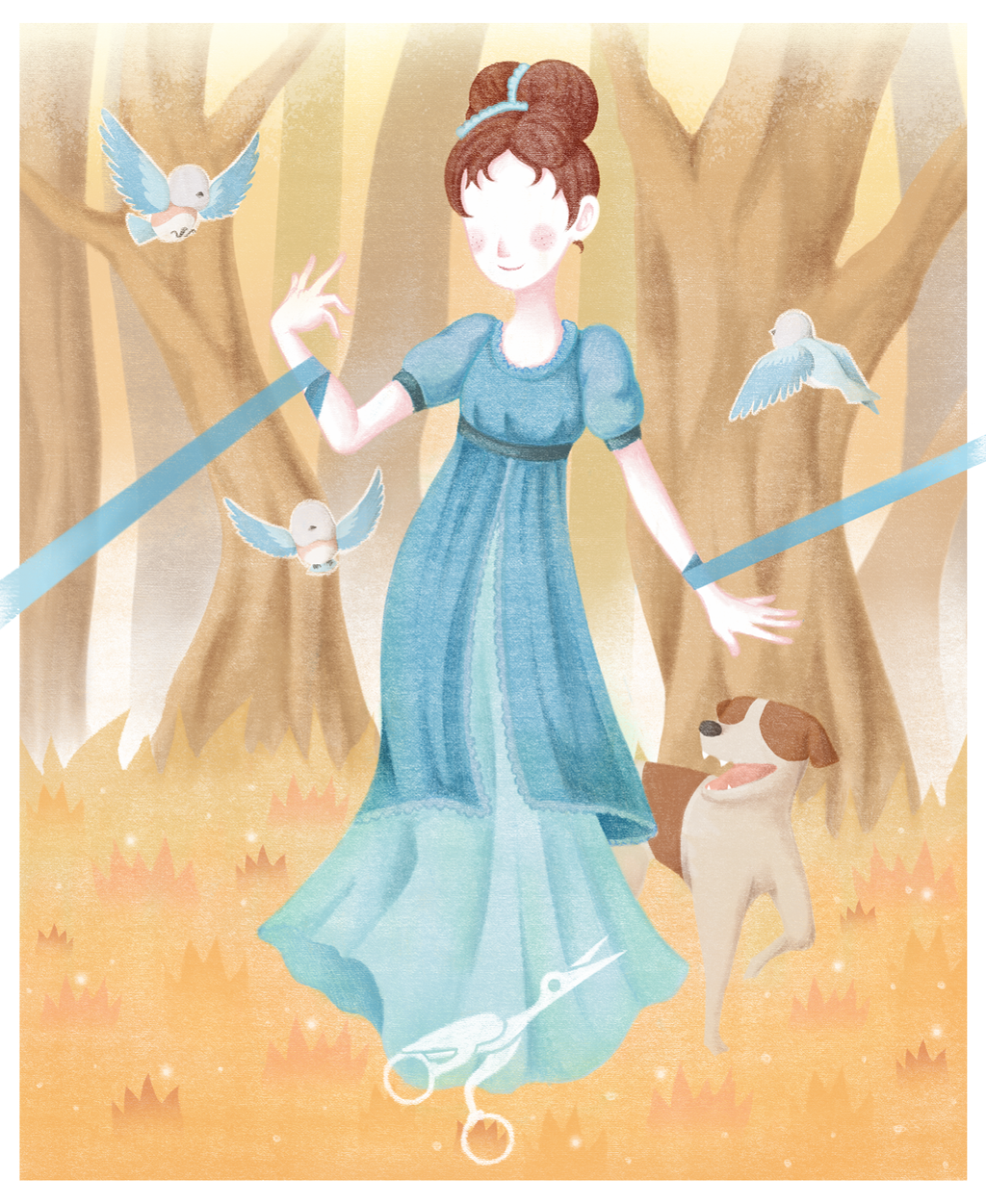 Over The Garden Wall Beatrice By Shannon8188 On Deviantart