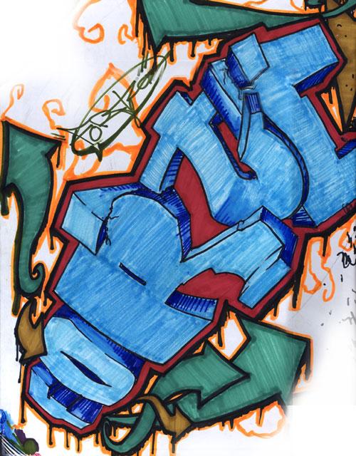 Graffilthy by evilEzra