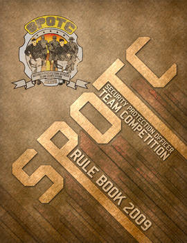 SPOTC 2009 Rule book cover