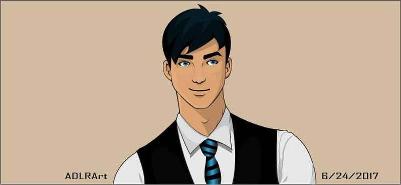 Blue Tie Guy (OC) by 9018Masterchic