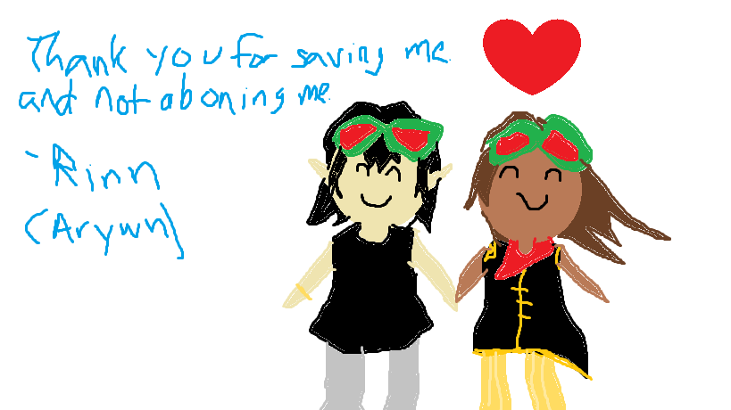Li and Arwyn sorry by SkywardTamer