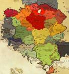 Arden political map
