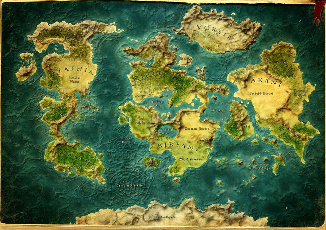 Worldmap by SchwarzKreuz