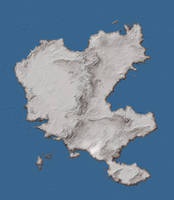 Caledon Continental Map