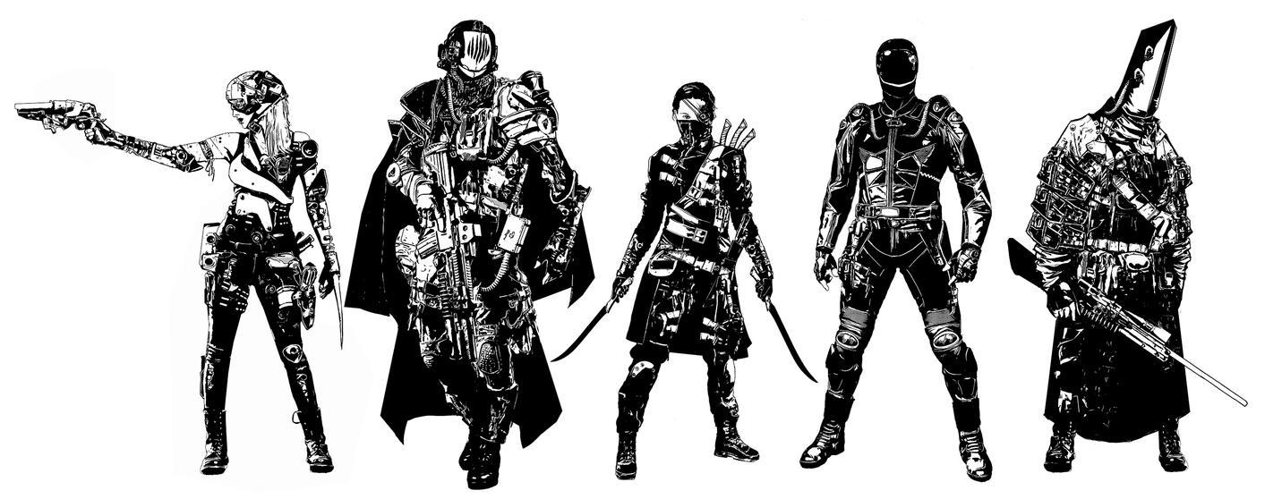 Groupshot by SchwarzKreuz