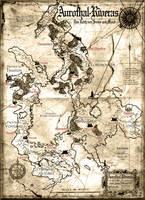 Map of Aurothal-Riveras by SchwarzKreuz