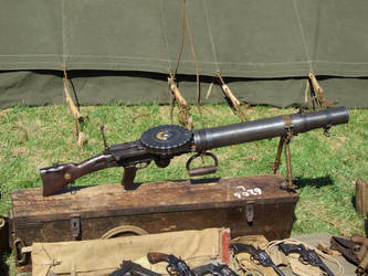 Lewis Light Machine Gun by davidjwalters