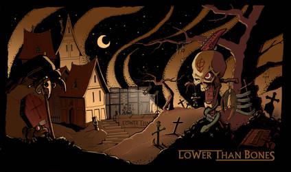 Lower Than Bones desktop by davidjwalters