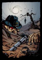 Lower Than Bones western by davidjwalters