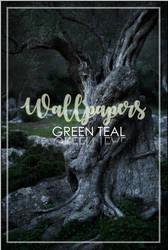 WALLPAPERS -GREENTEAL-