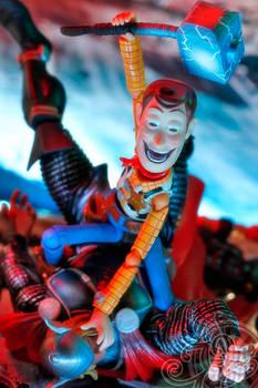 Woody vs The Avengers
