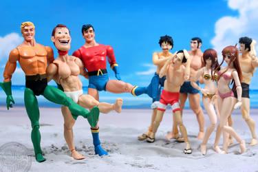 Aquaman and Aqualad's Beach Blast!
