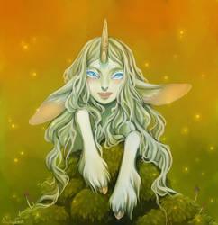 Little Unicorn by Anoki-Doll
