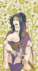 The Warlady by Anoki-Doll