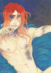 Bruised ACEO by Anoki-Doll