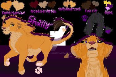 Shally ref-sheet 2017~
