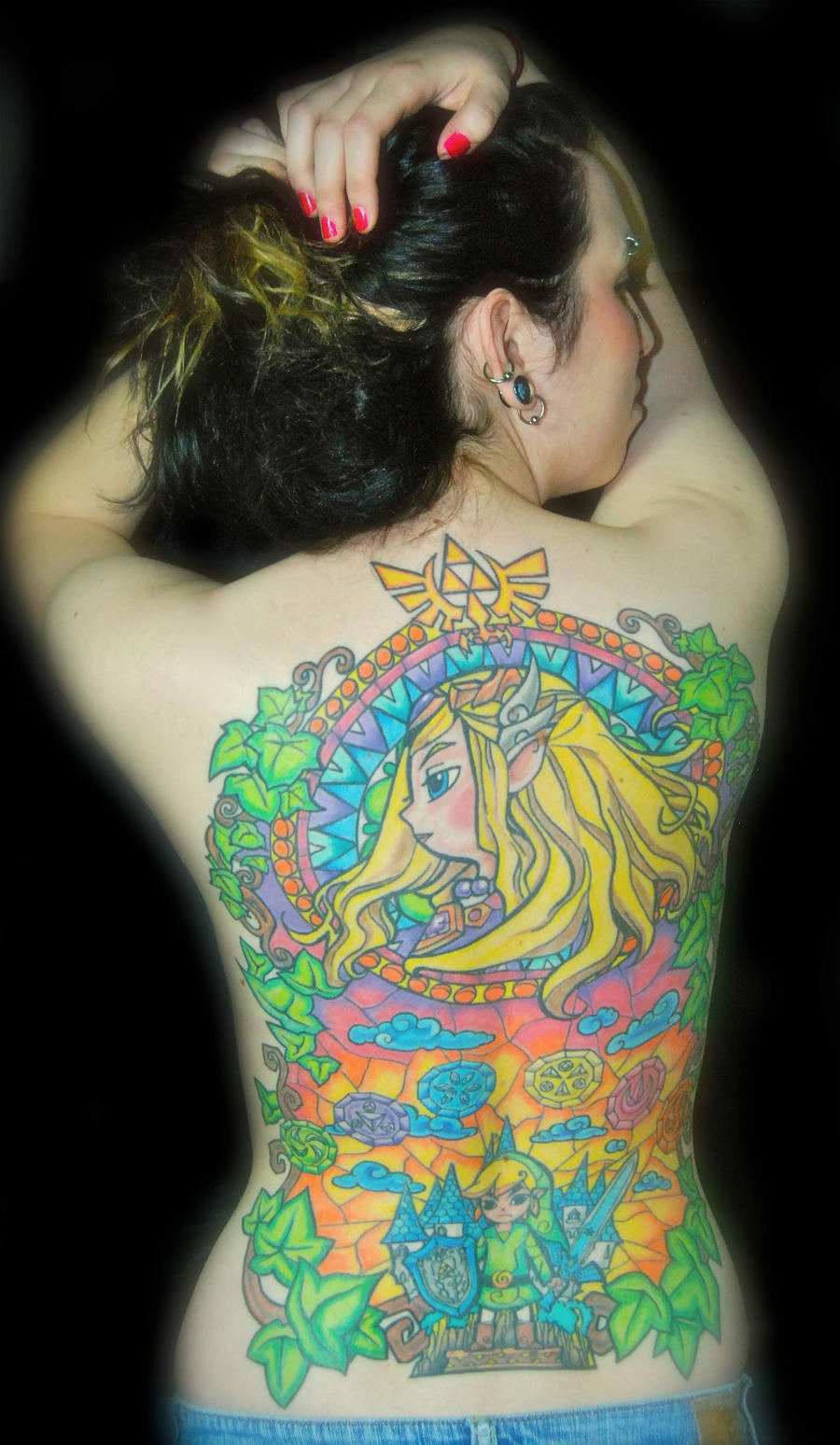 Legend of Zelda Tattoo by LizisZelda