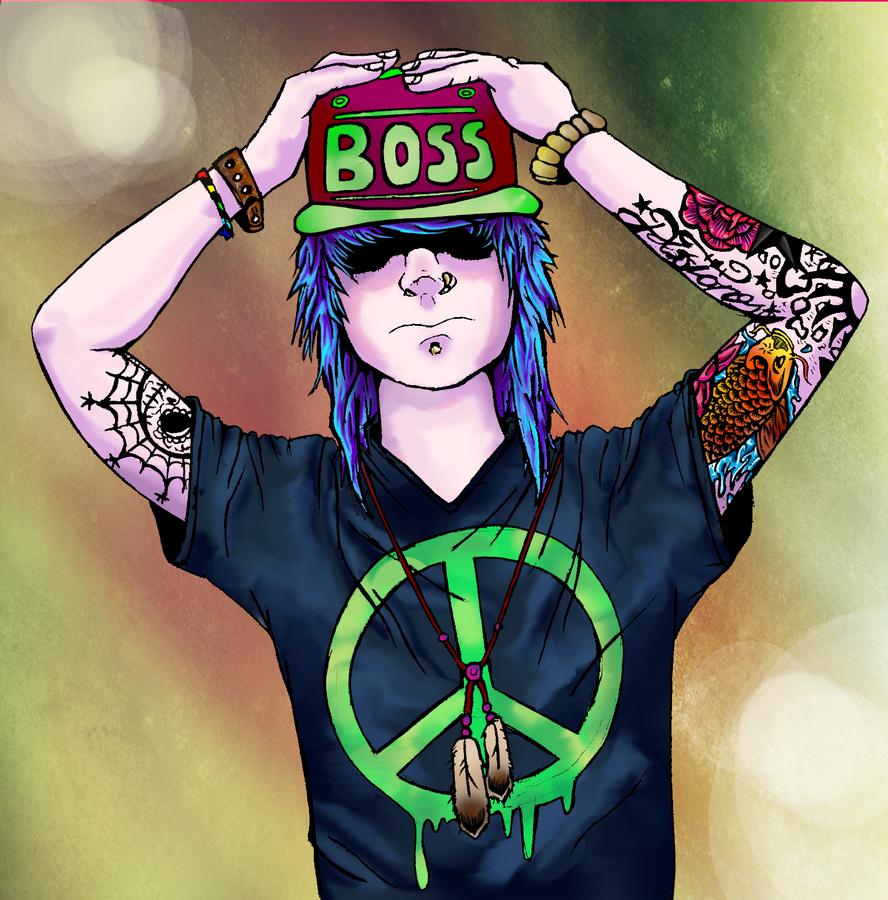 Tattooed Boss by Atakamiwolf