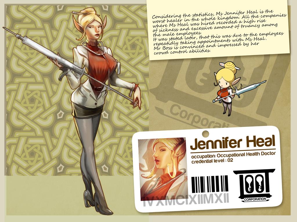 Jennifer Heal by gorgonzola3000