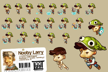 Nooby Larry Spritesexample