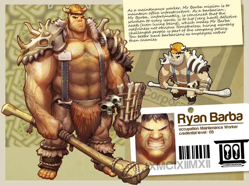 Ryan Barba by gorgonzola3000