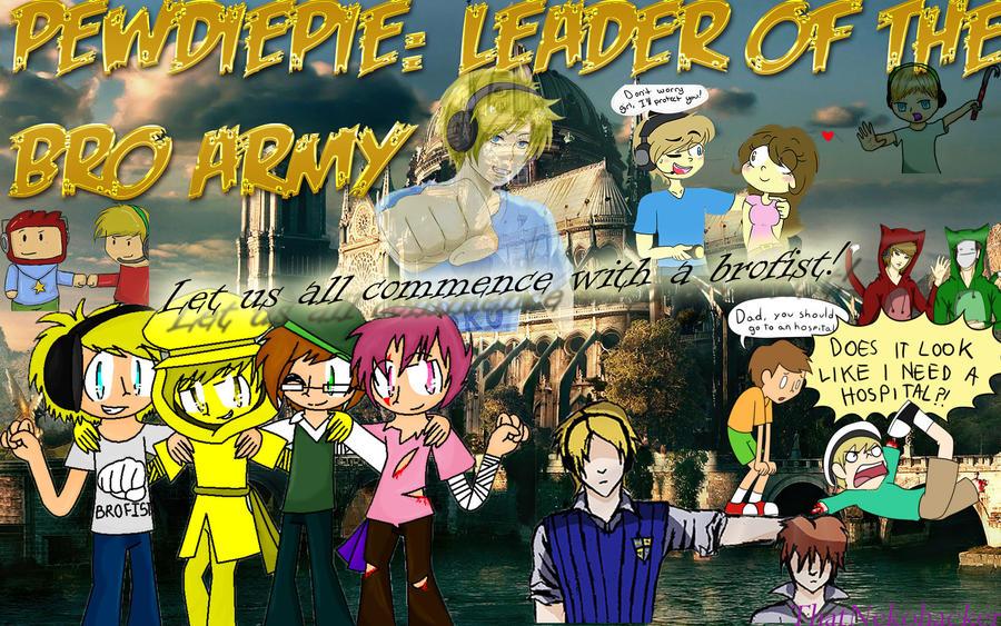 PewdiePie: Leader of the Bro Army by ThatNekohacker