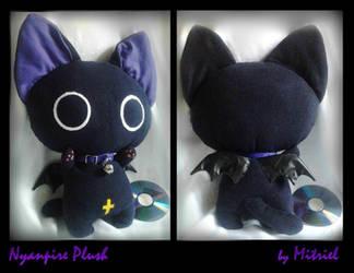 Nyanpire Violet Plush