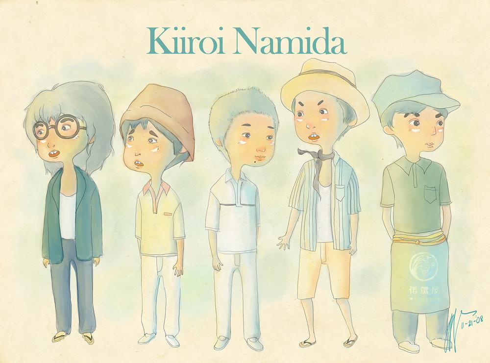 Kiiroi Namida by tatekane