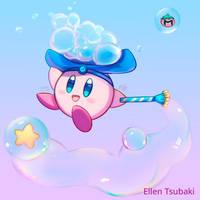 Bubble Kirby by Ellen by Ellen-Tsubaki
