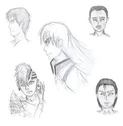 Character Sketches 8