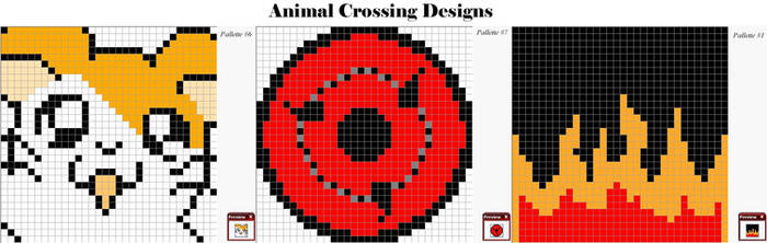 Animal Crossing patterns