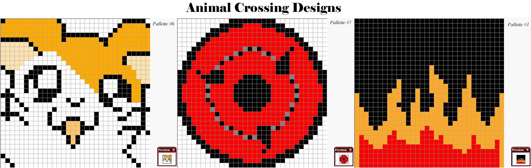 Animal Crossing Patterns By Shadokin77 On Deviantart