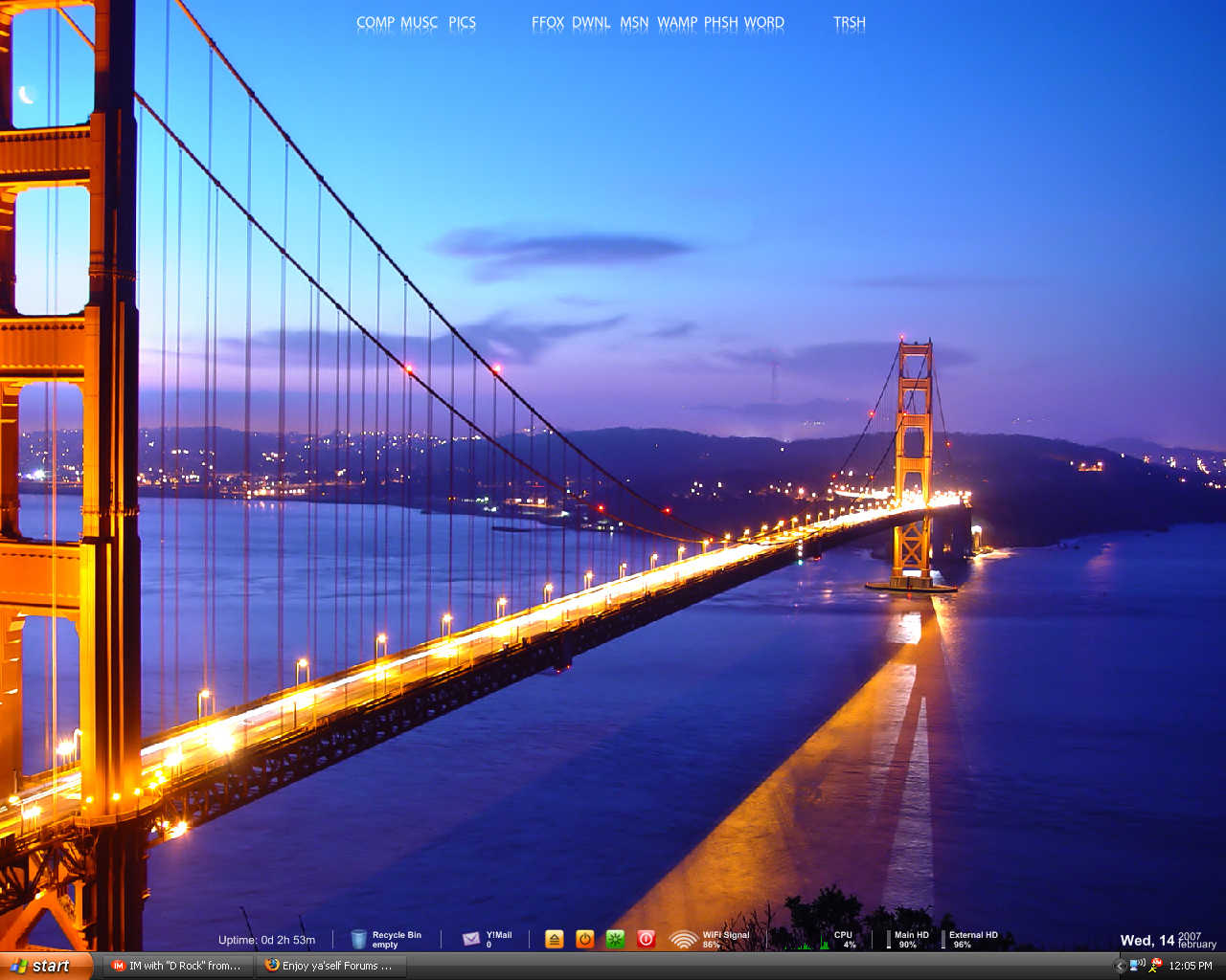My New Desktop by djdez92