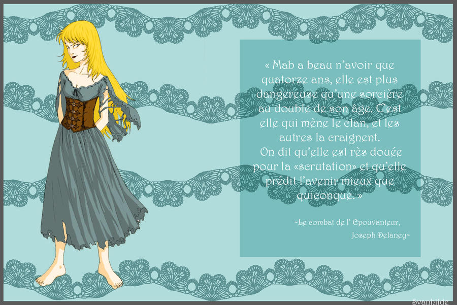 L'aspect des personnages - Page 3 Mab_Mouldheel_by_Svanhilde