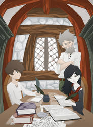 Spook's house by Svanhilde
