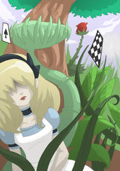 Alice in Wonderland II by Svanhilde