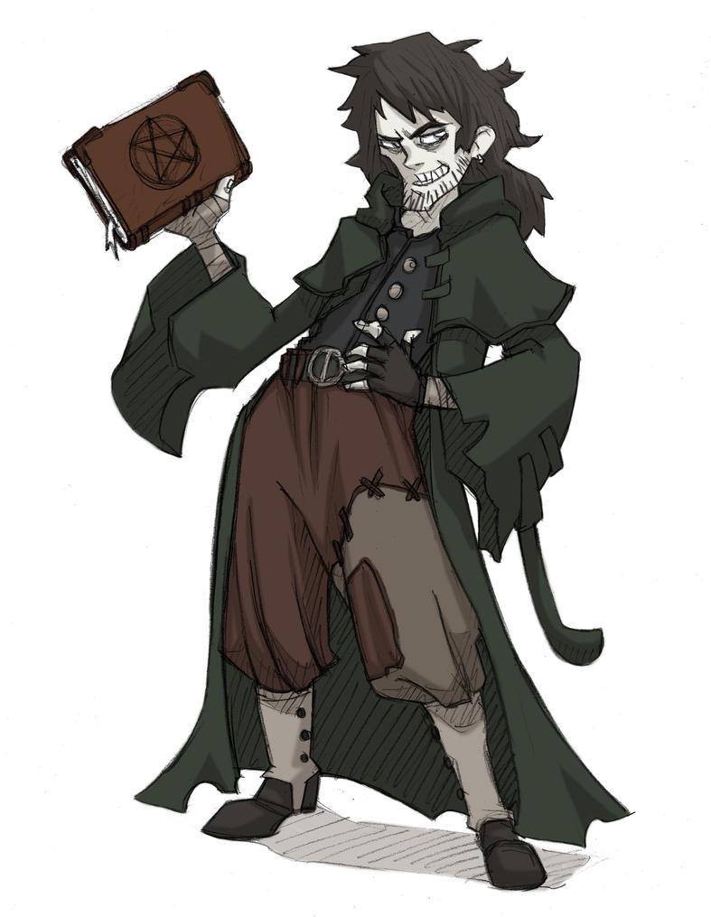 L'aspect des personnages - Page 3 Morgan_by_svanhilde-d30kd70