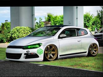 VW scirocco by nethodesigner