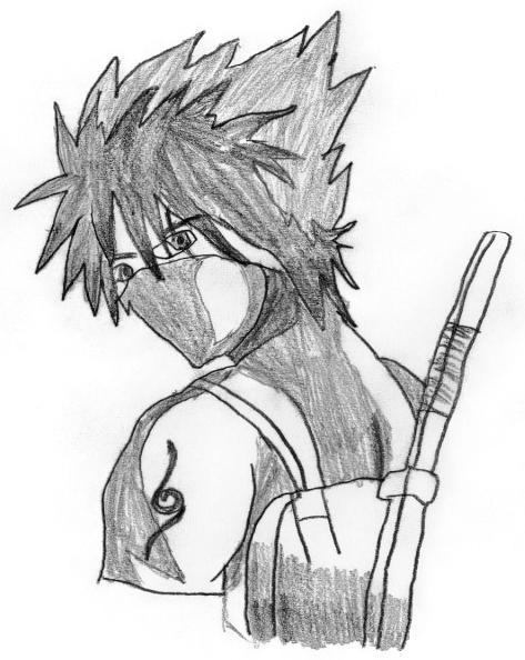Mysterious ANBU Kakashi by bokujin-geshi on DeviantArt  Mysterious ANBU...