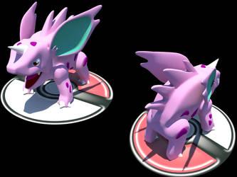 Pokemon 3D : Nidorino