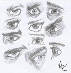 Eyes by blackgengar