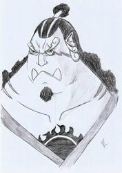 One Piece - Jinbei by blackgengar