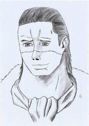 One Piece - Crocodile by blackgengar