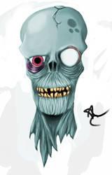 Zombie by blackgengar