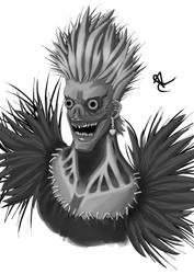 Death Note Ryuuku by blackgengar