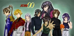 Gundam 00 x Gundam Wing