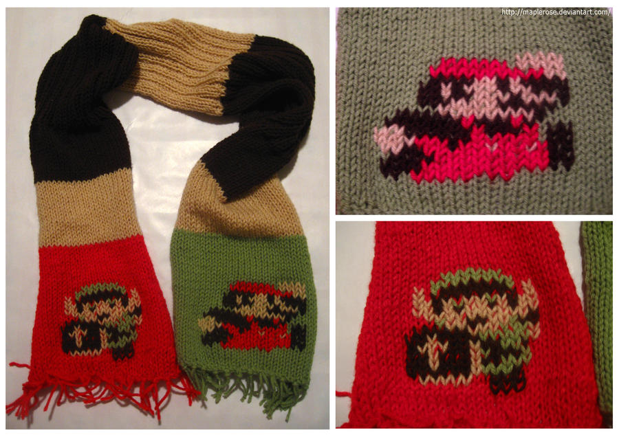 Mario Link Scarf by MapleRose