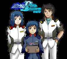 GBF x GS - Iori Family Cosplay by MapleRose